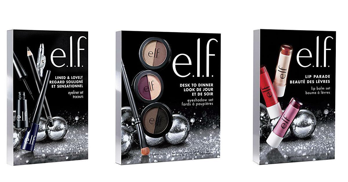 Christmas Makeup Gift Sets.E L F Makeup Gift Sets 5 Each On Amazon Arrives On Time