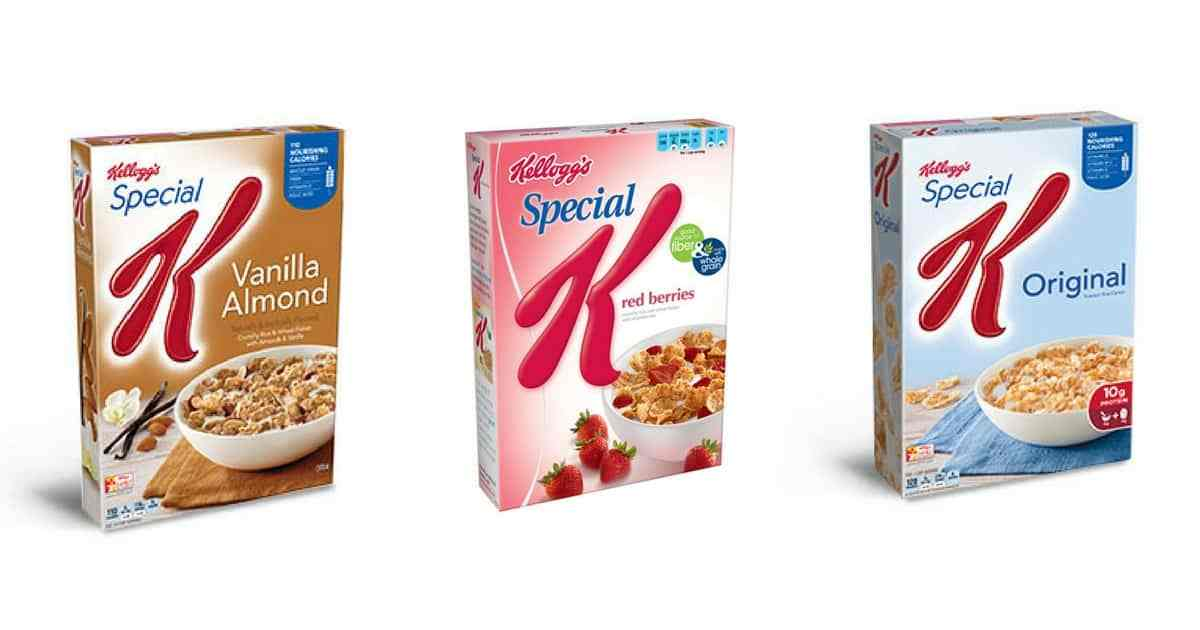 Save on Special K at CVS