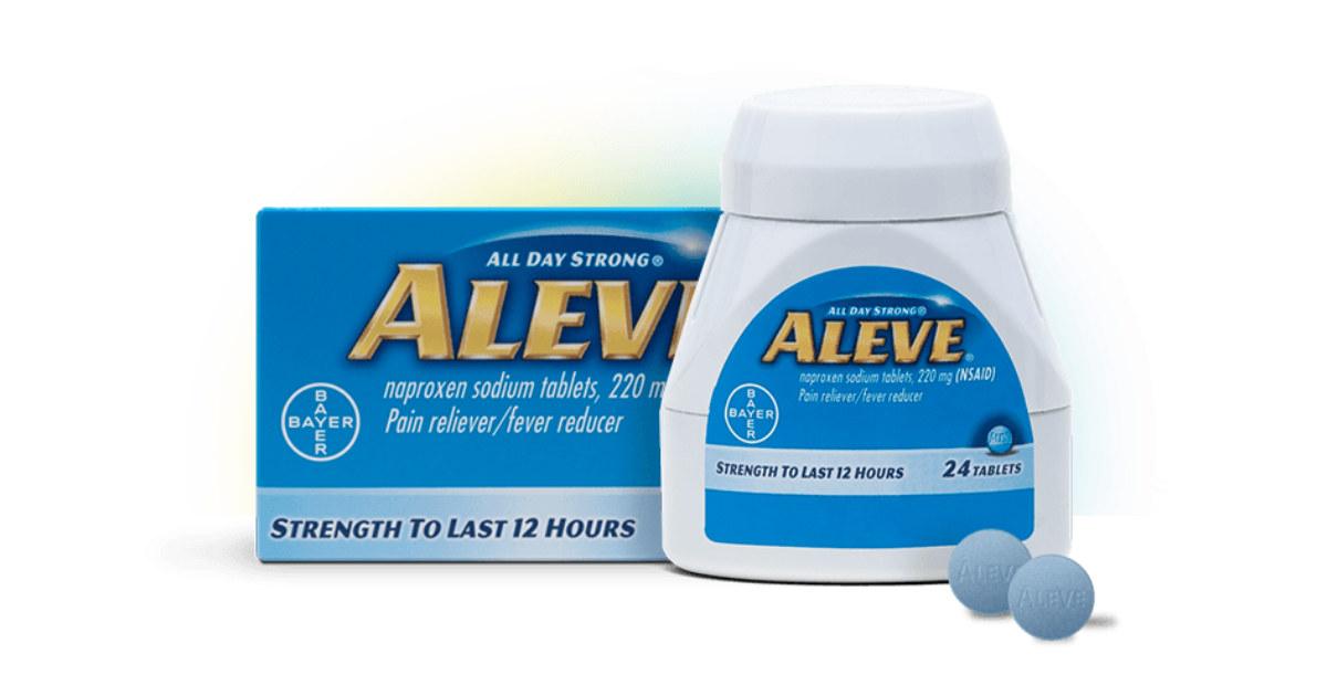 free aleve samples