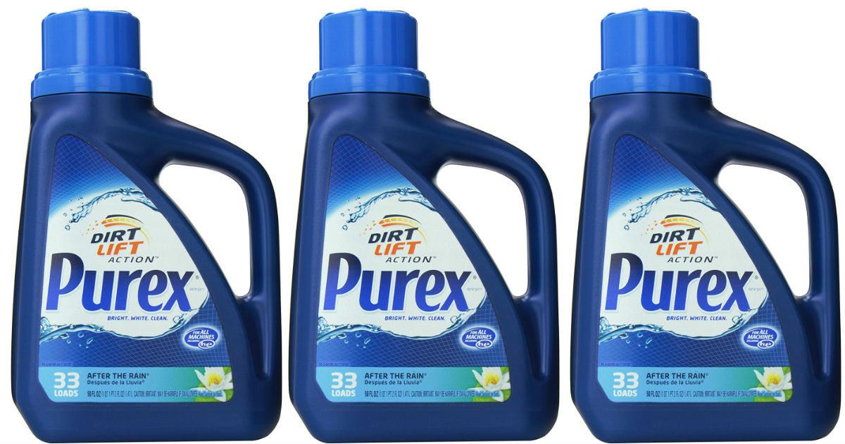 Purex detergent at CVS