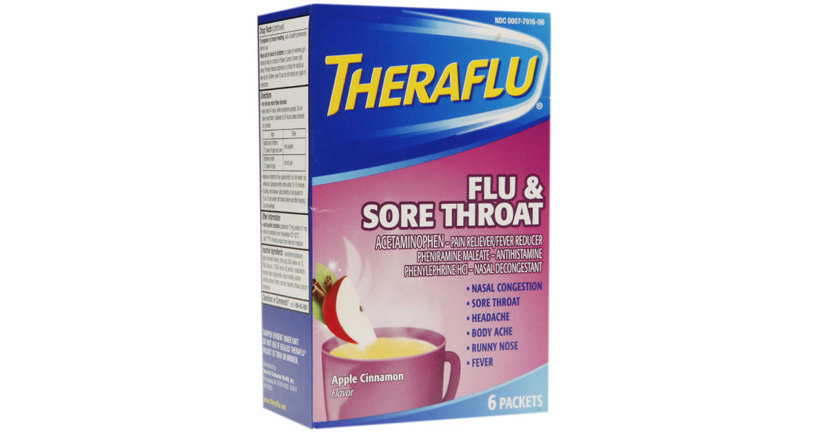FREE Theraflu at Walgreens