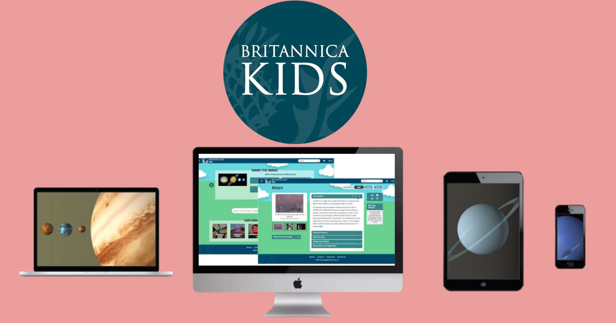 FREE Britannica Kids Trial - Keep the Kids Learning this Summer