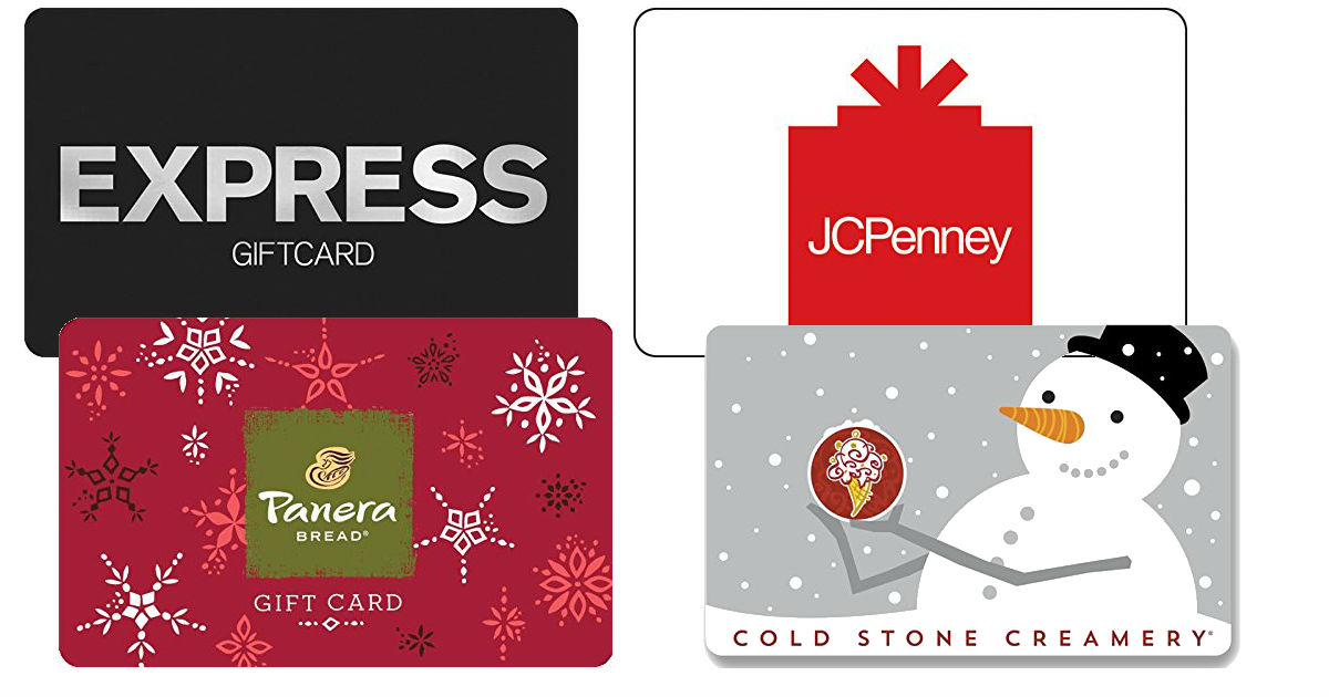 $10 Off Gift Cards - JCP, Goog...