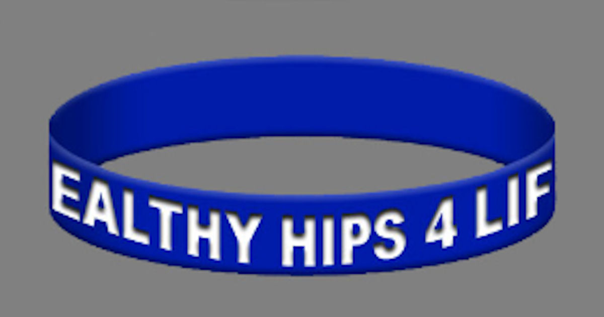 FREE Healthy Hips 4 Life Wrist...