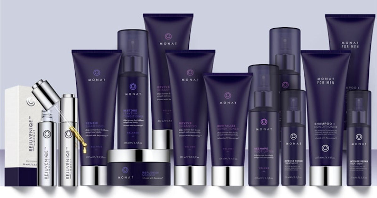FREE Sample of Monat Haircare.