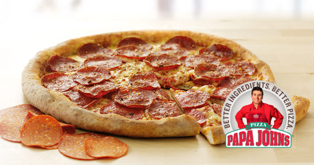 graphic regarding Papa Johns Printable Coupons titled Papa Johns $7 Significant 1-Topping Pizza Coupon (Reg. $16