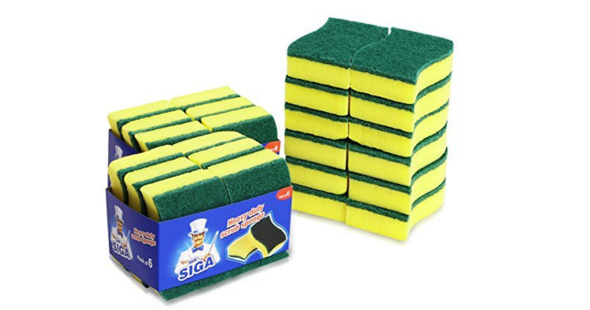 Year Supply of Kitchen Sponges $10.26