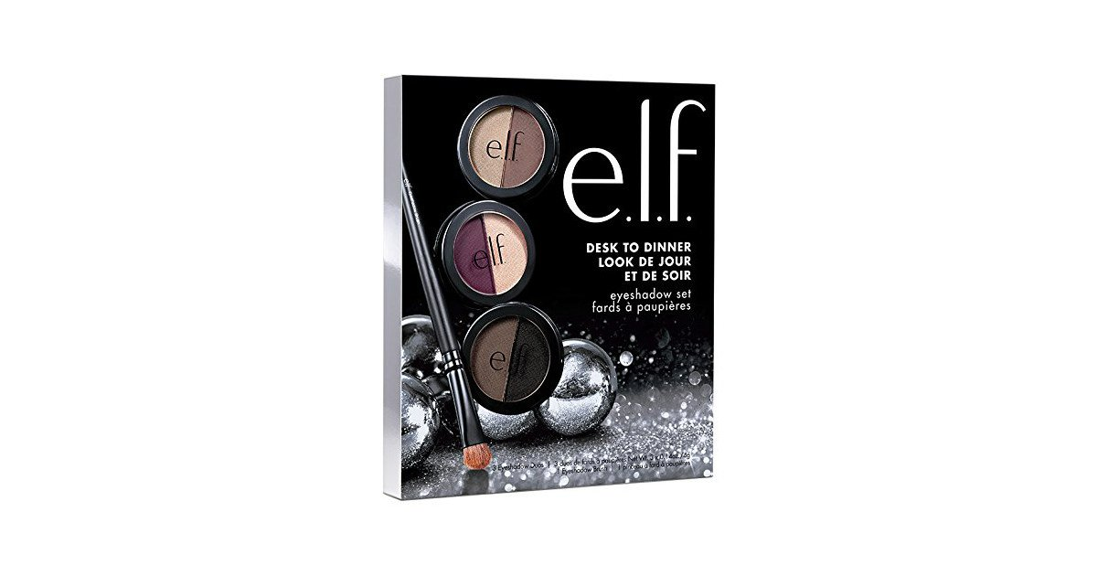 e.l.f. 3 Piece Eye Shadow Set on Sale for $2.47, Save 50% Off