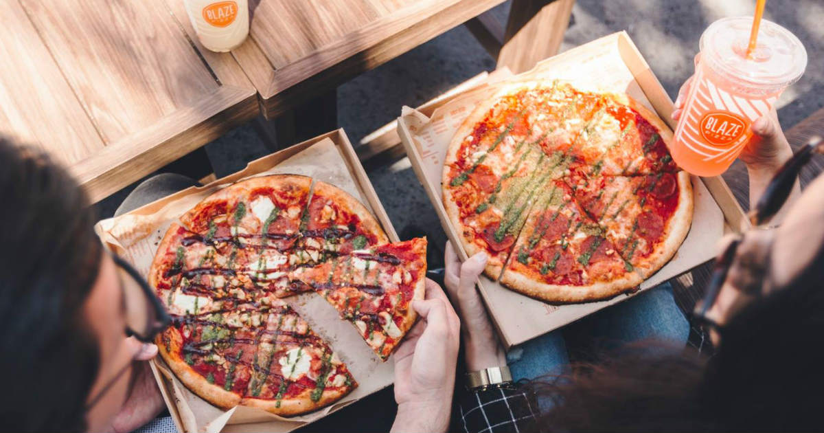 Blaze Pizza Buy One Get One FREE Coupon