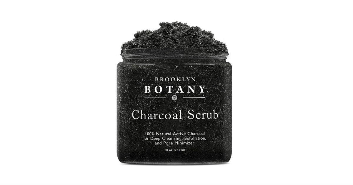 Charcoal Scrub on Amazon