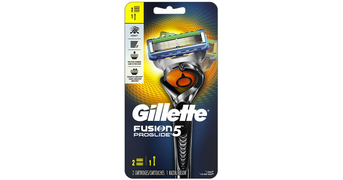 Gillette Fusion Proglide on Amazon