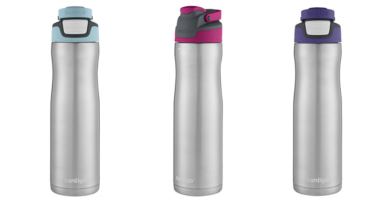 Contigo Stainless Steel Water Bottles for $11.99 (Reg $23)