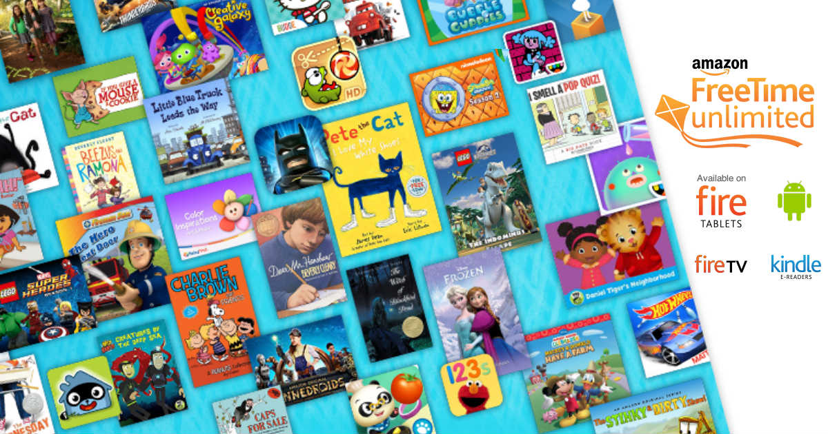 FREE Subscription to Amazon's New FreeTime Unlimited for Kids