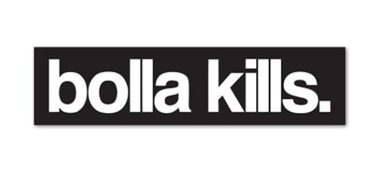 FREE Bolla Kills Sticker Pack.