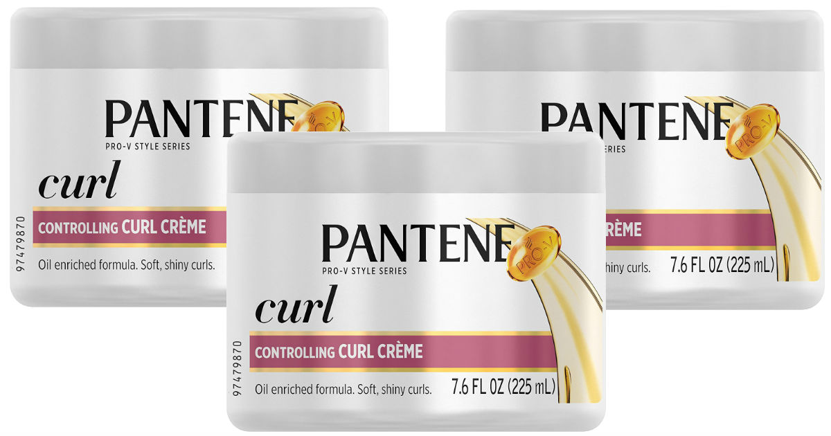 Pantene Curl Perfection Hair Creme $2.31 Each Shipped, 53% Off
