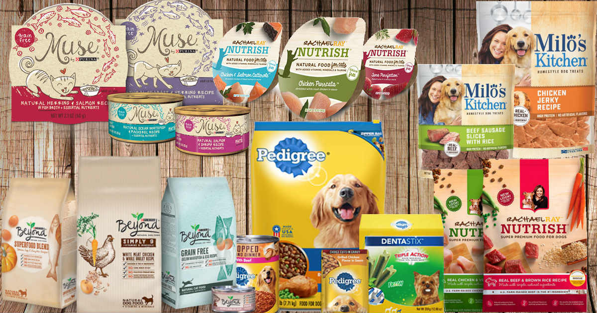 Save Over $73 on Dog and Cat Food