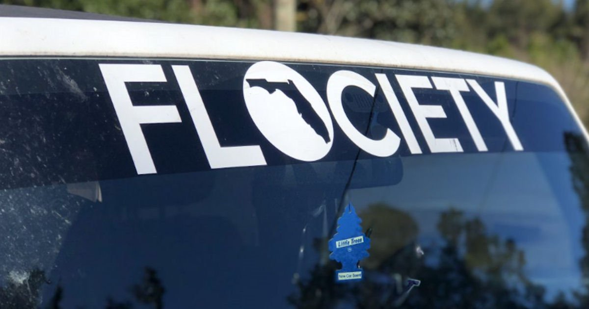 FREE Flociety Decal...