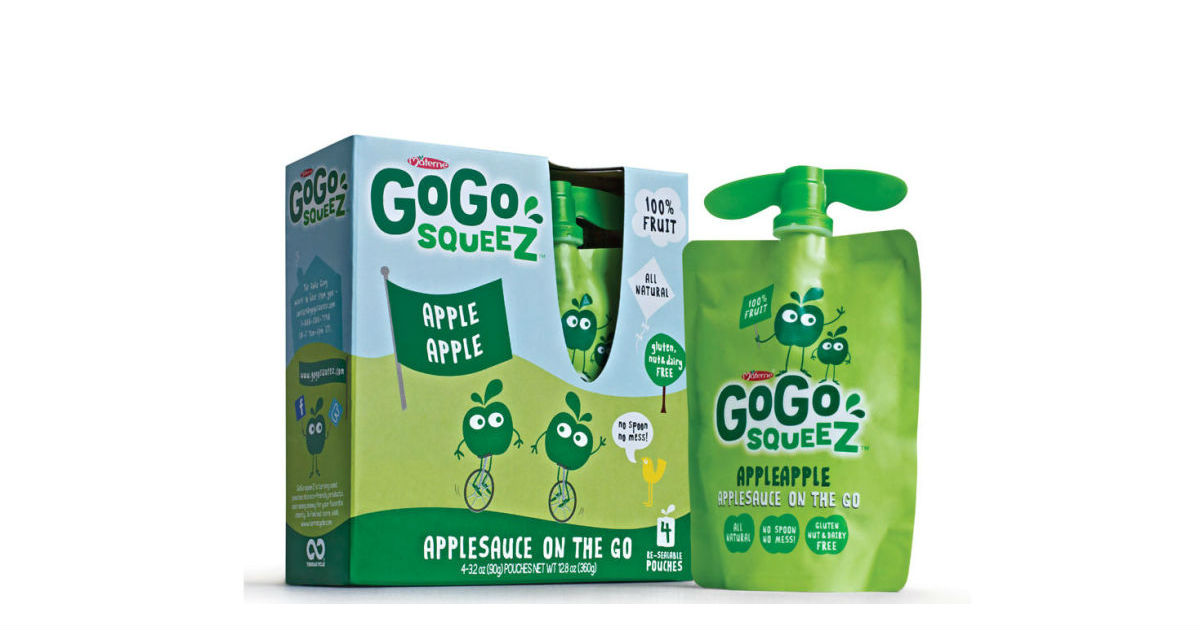 GoGo Squeez Applesauce at Walmart