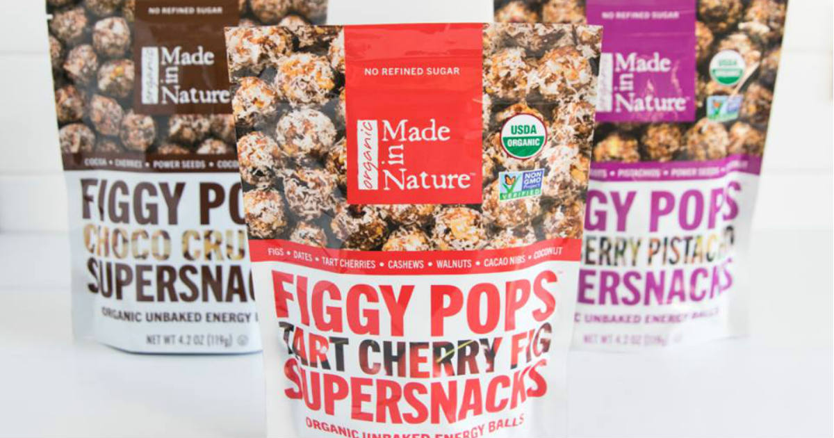 FREE Made in Nature Snacks at.