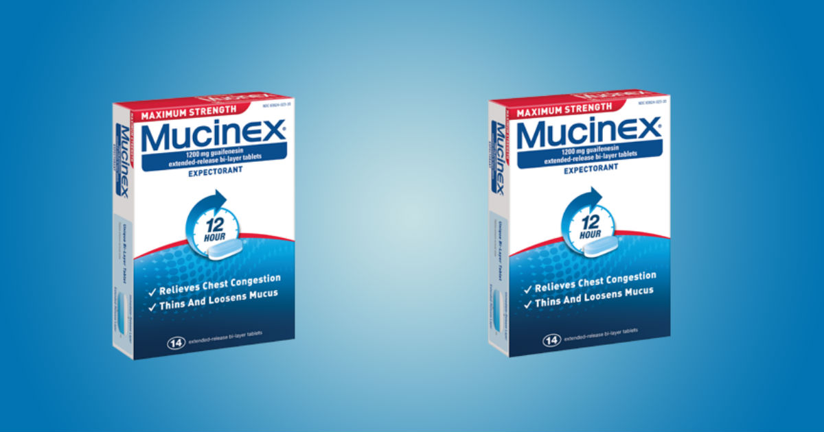 Mucinex at CVS and Walgreens