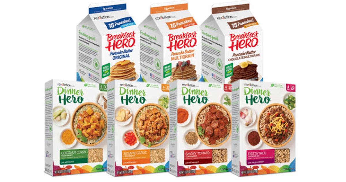 FREE Revolution Foods Dinner H...