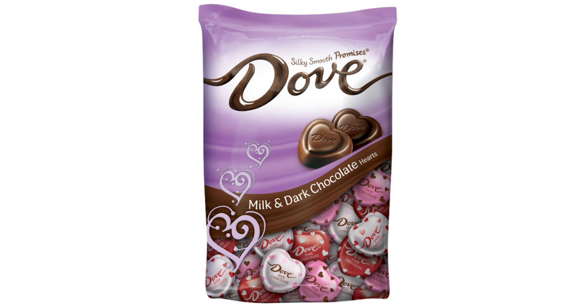 Dove Promises Valentine Chocolates on Amazon