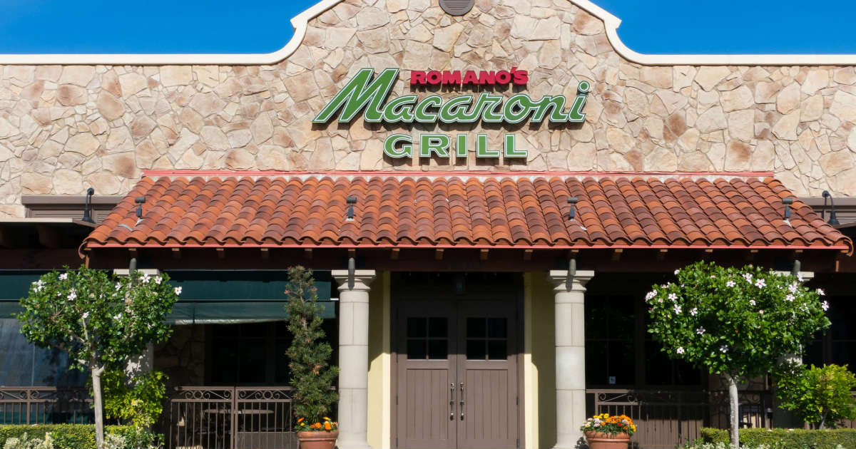 $20 Off Romano's Macaroni Grill Coupon