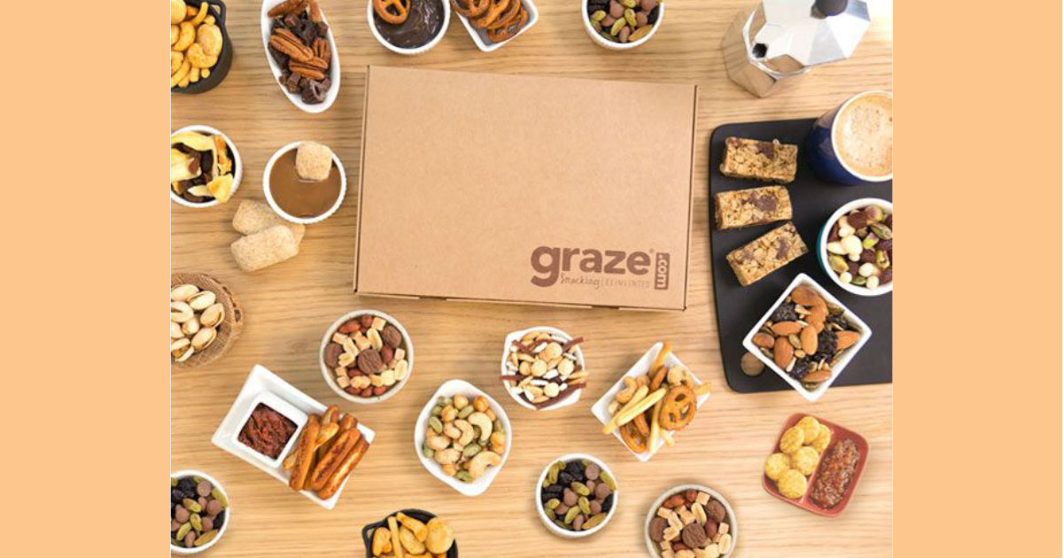 FREE Snack Sampler Box: Graze.