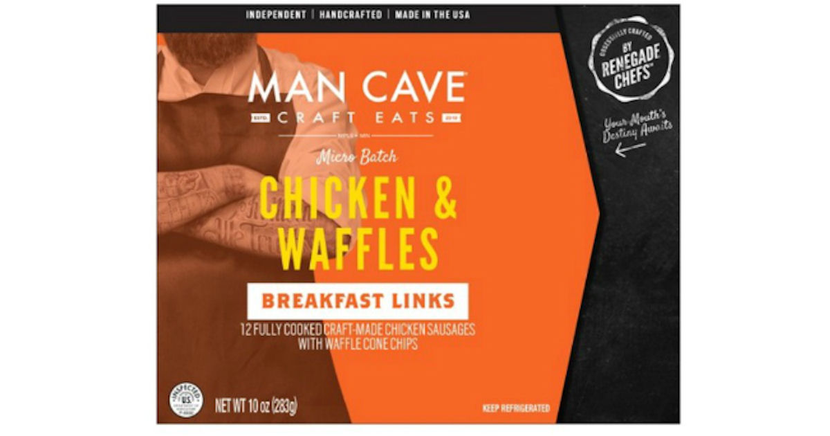 Man Cave Craft Eats Chorizo : Free man cave craft eats chicken waffles breakfast links