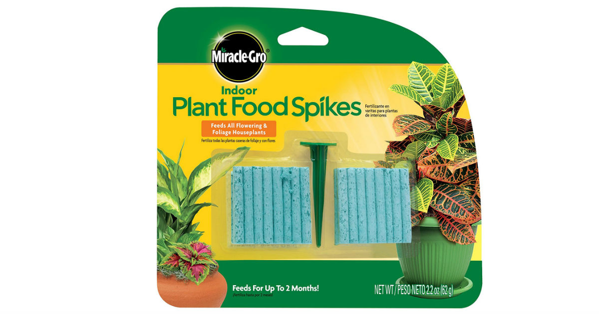 Miracle-Gro Indoor Plant Food on Amazon