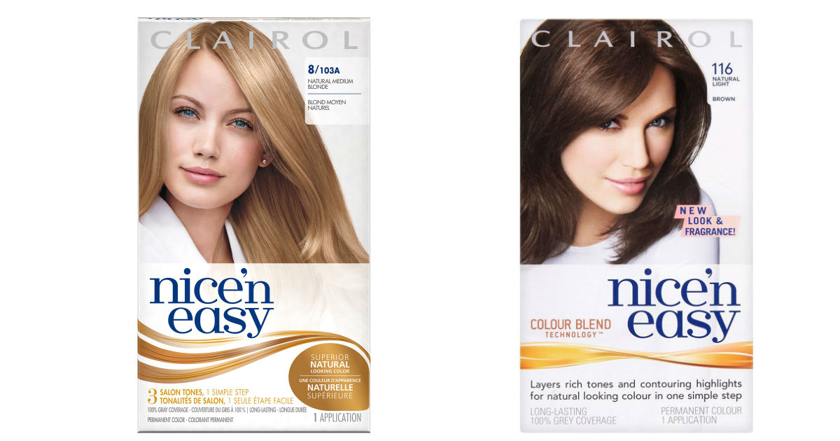 FREE Clairol Nice 'n Easy Hair...