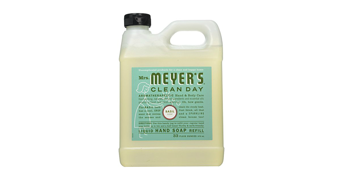 Mrs Meyers hand Soap Refill deal at Amazon