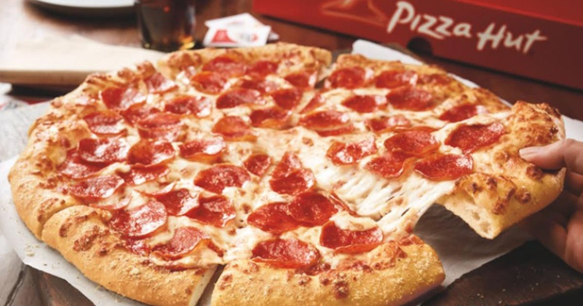 photograph relating to Pizza Hut Printable Application identified as 50% Off Pizza at Pizza Hut - Printable Discount coupons