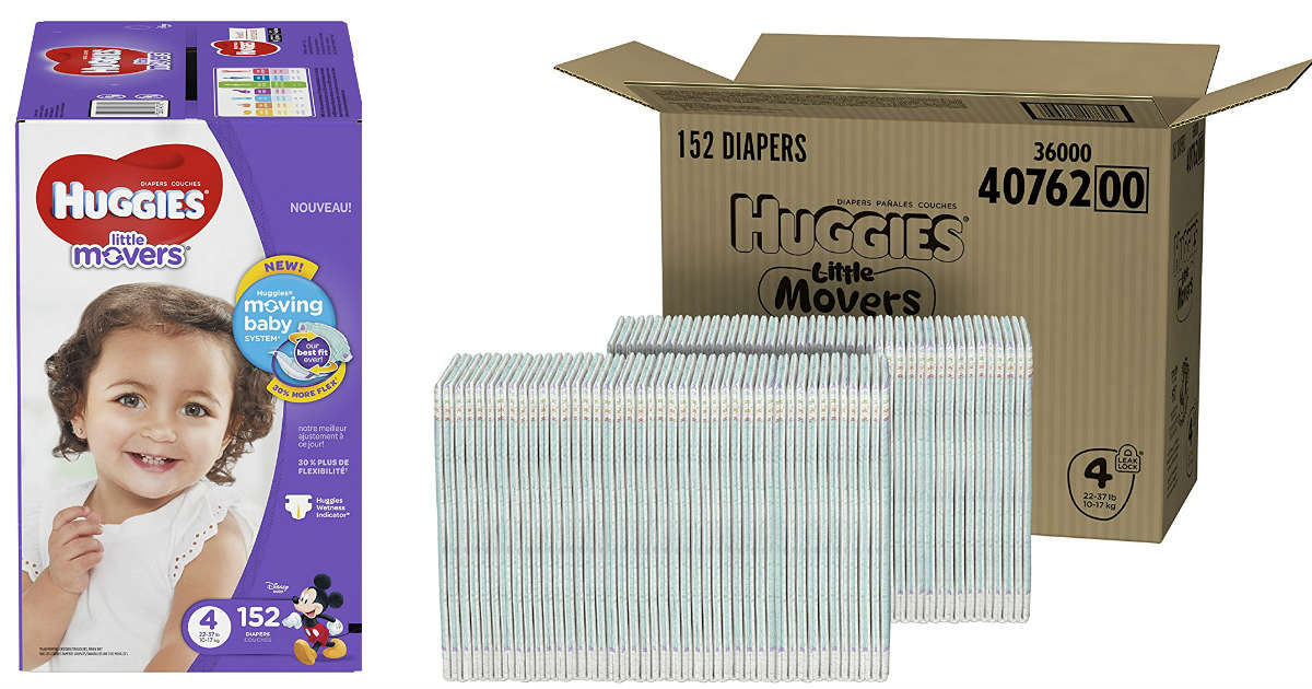 HUGGIES Little Movers Diapers.