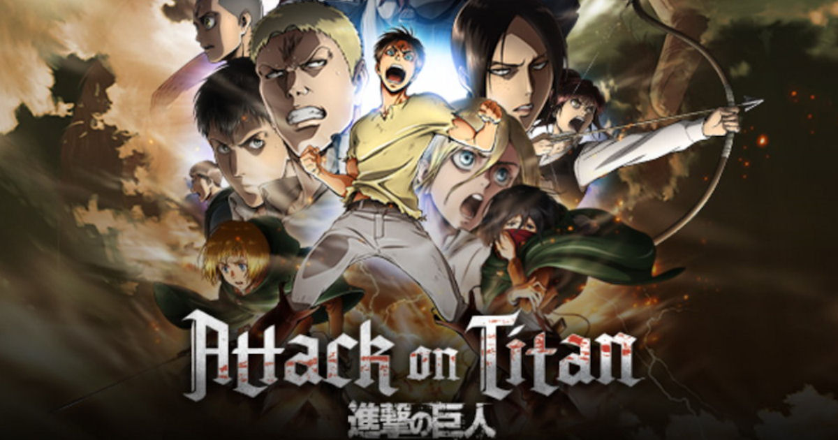 FREE Attack on Titan, Season 1...