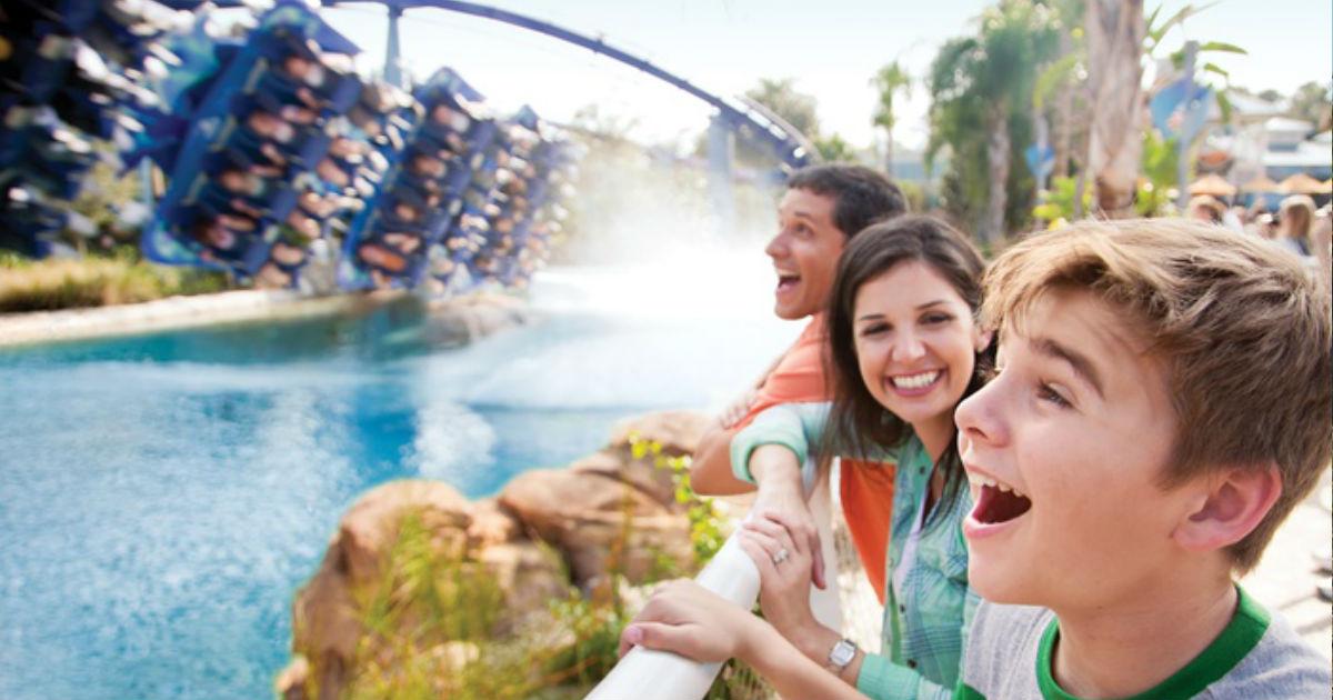 40% Off 2 Park Tickets - SeaWorld, Aquatica, Busch Gardens