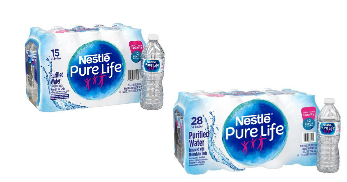 Nestle Pure Life Water at Target