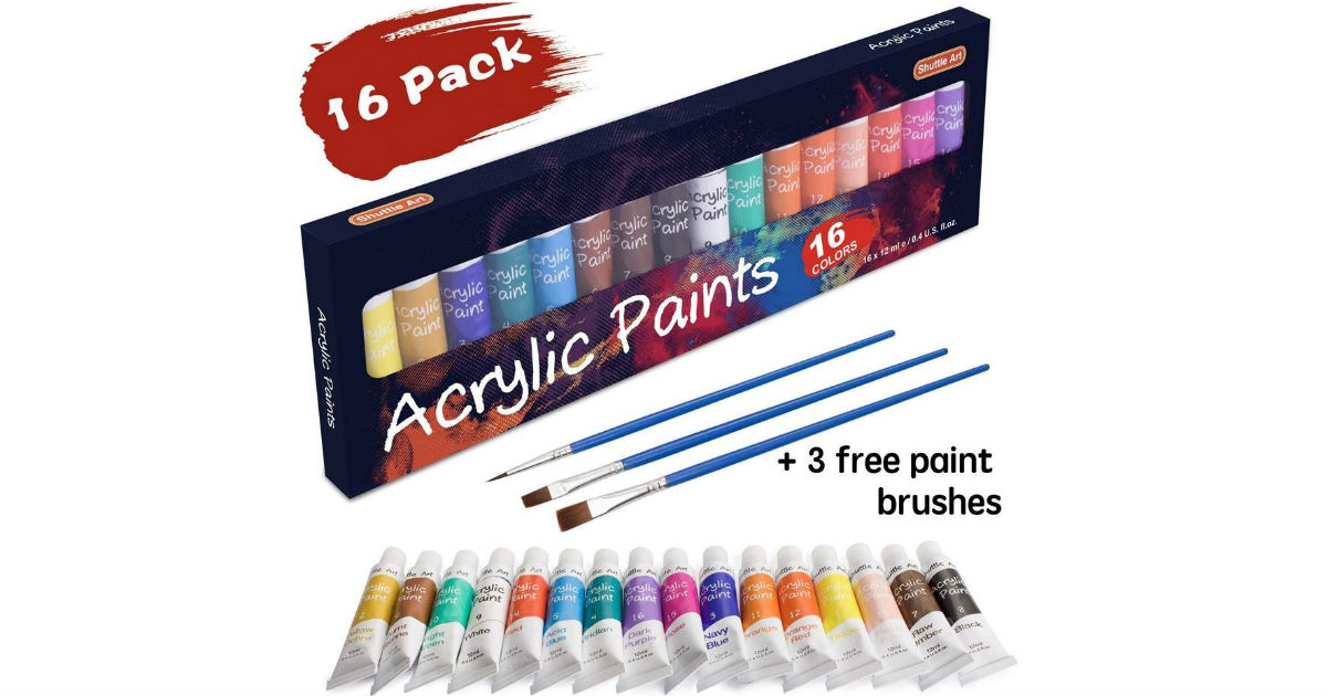 Acrylic Paint Set on Amazon