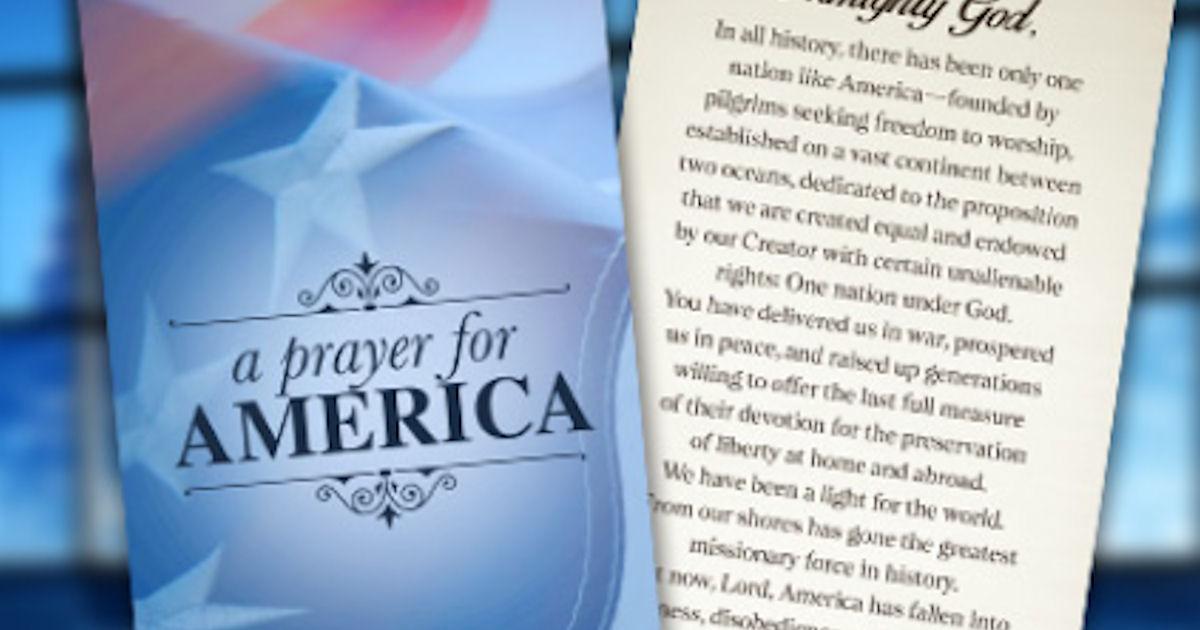 FREE Prayer for America Bookma...