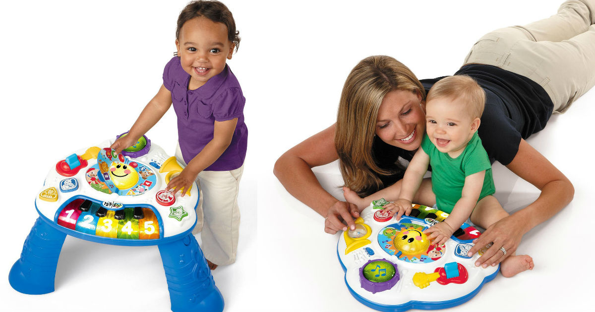 Baby Einstein Music Activity Table on Sale for $16.16 (Reg $35)