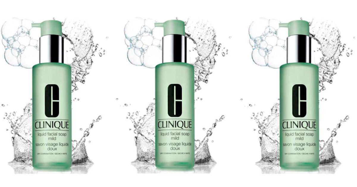 clinique liquid facial soap review