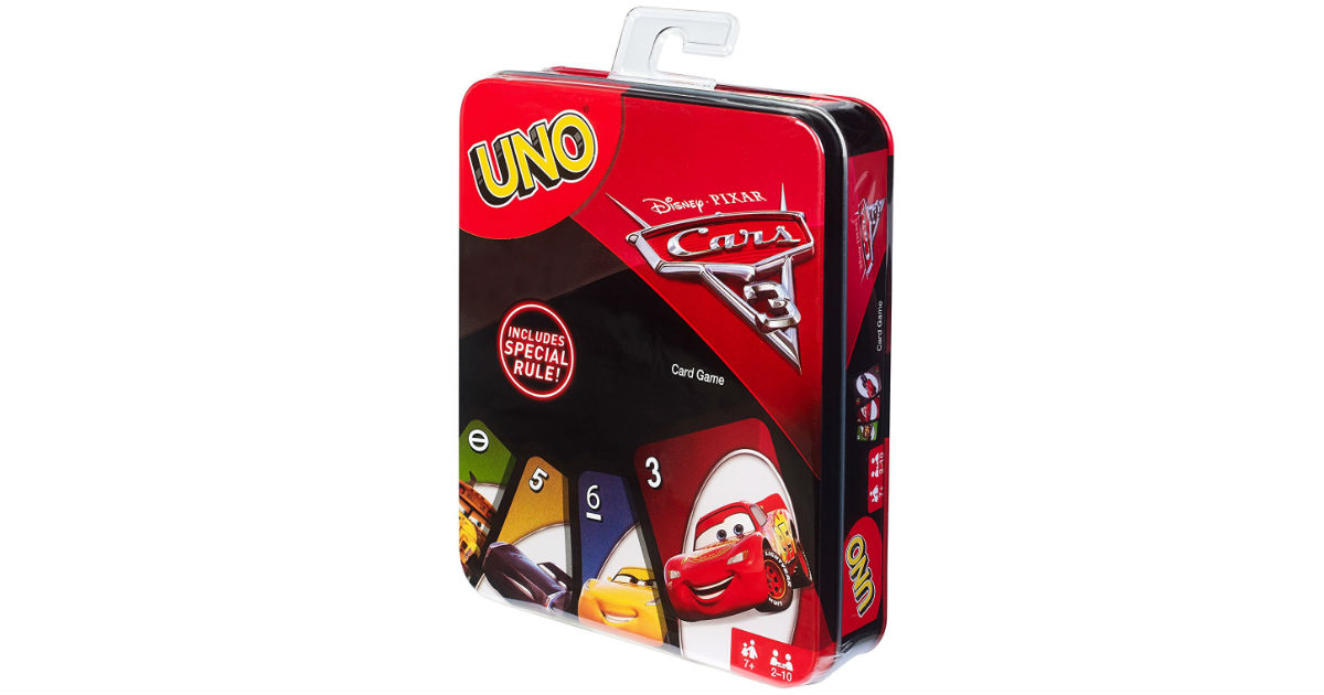 Uno Cars Game on Amazon