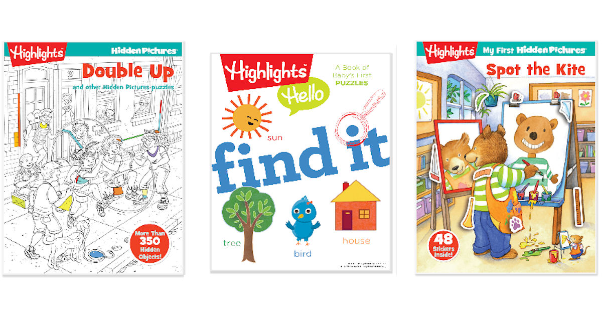 FREE Highlights Books...