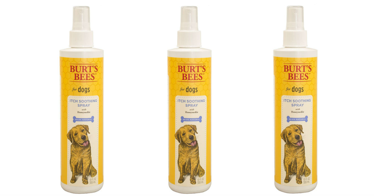 Burt's Bees Dog Itch Soothing.