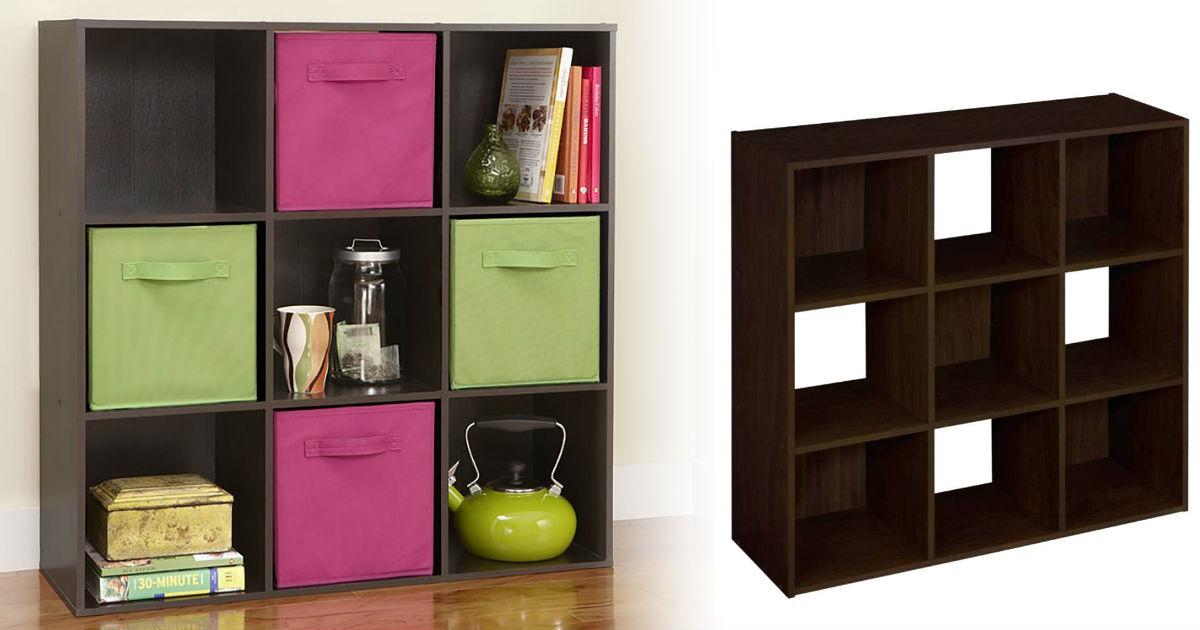 ClosetMaid 9-Cube Organizer on...