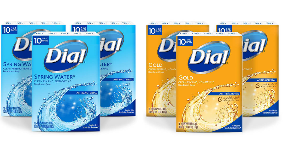 Dial Antibacterial Bar Soap's 30ct ONLY $11.82 + Free Shipping