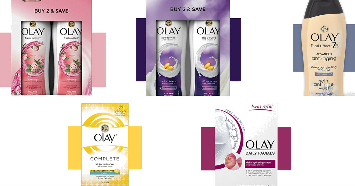 Olay as Low as $1.99: Amazon