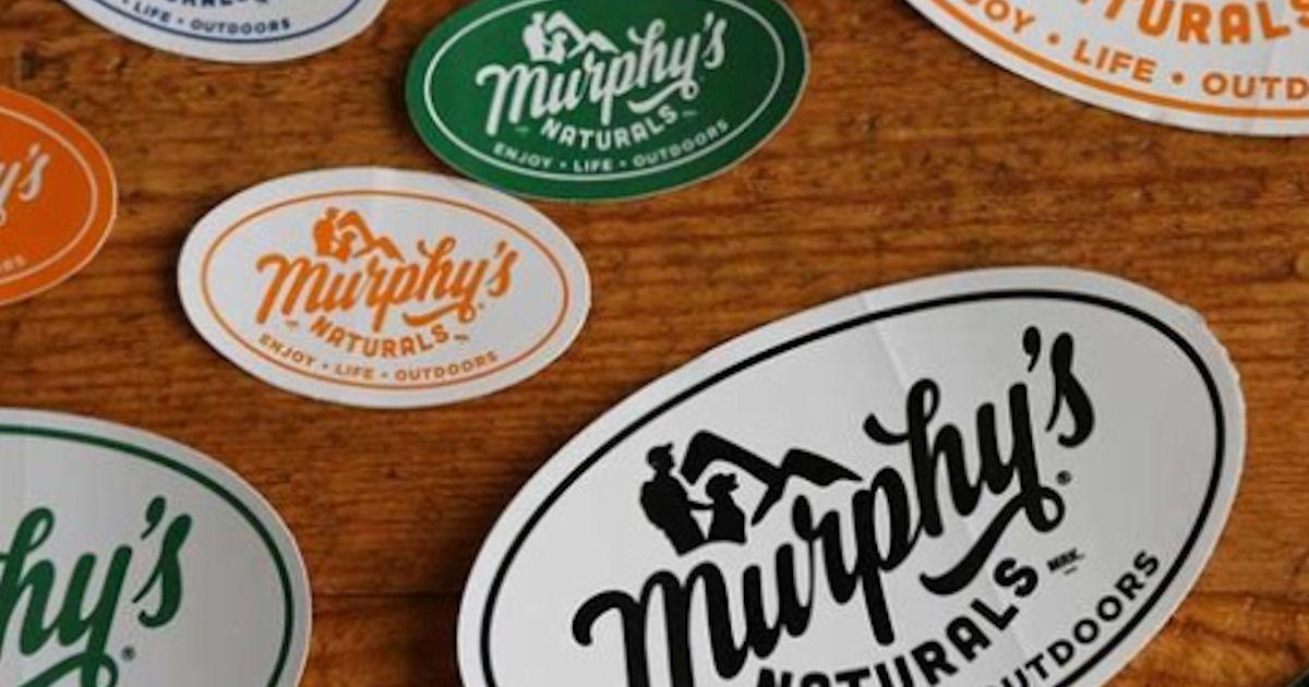 FREE Murphy's Naturals Sticker...