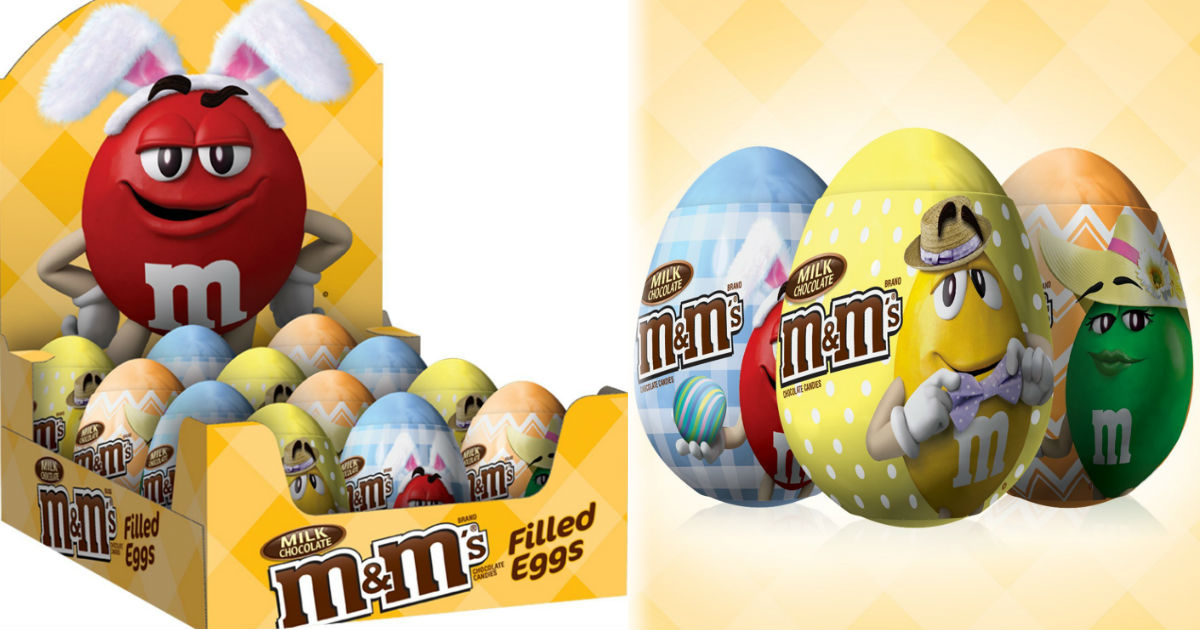 $0.86 M&M's Filled Easter Egg's on Amazon