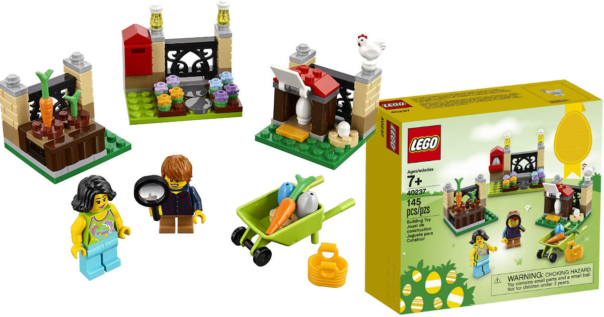 $9.84 (Reg. $12.84) LEGO Easter Egg Hunt Building Kit on Amazon